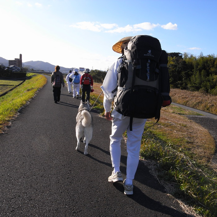 Memory of the second pilgrimage with husky HANA_c0049299_1222955.jpg