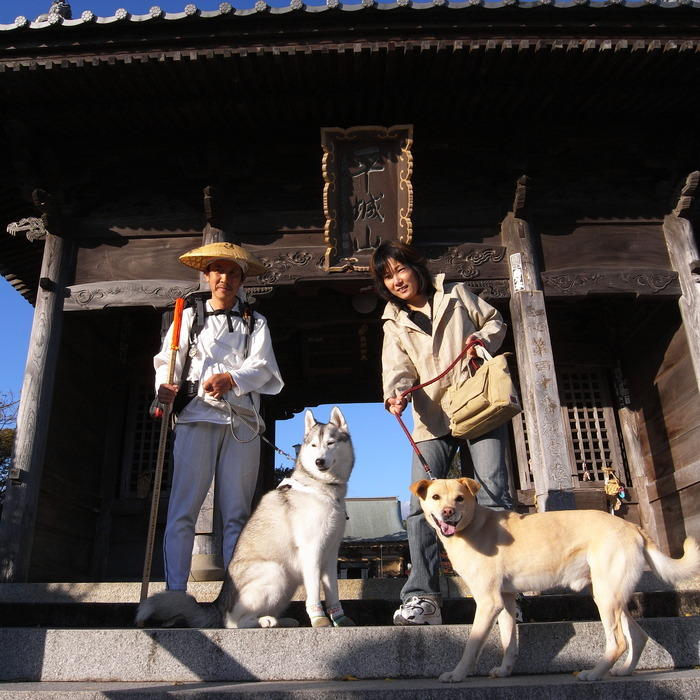 Memory of the second pilgrimage with husky HANA_c0049299_12241592.jpg