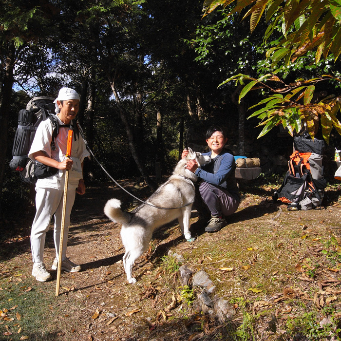 Memory of the second pilgrimage with husky HANA_c0049299_1292837.jpg