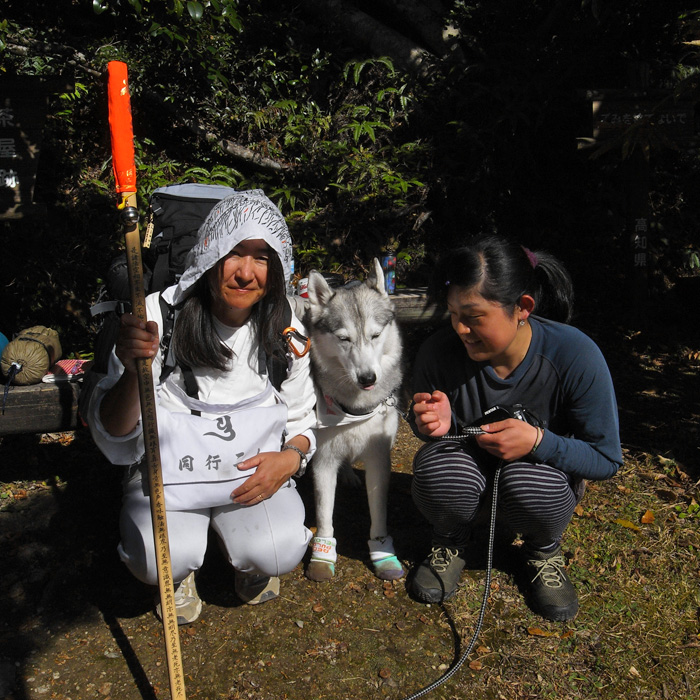 Memory of the second pilgrimage with husky HANA_c0049299_1295455.jpg