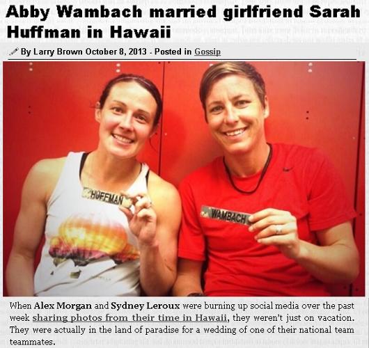 アビー・ワンバックさん、サラ・ハフマンさん、ご結婚おめでとうございます Congrats to Abby and Sarah!!!_b0007805_11225847.jpg