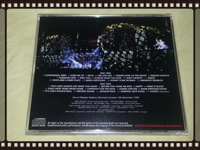 THE ROLLING STONES / MONTREAL 1989 1ST NIGHT_b0042308_21445330.jpg