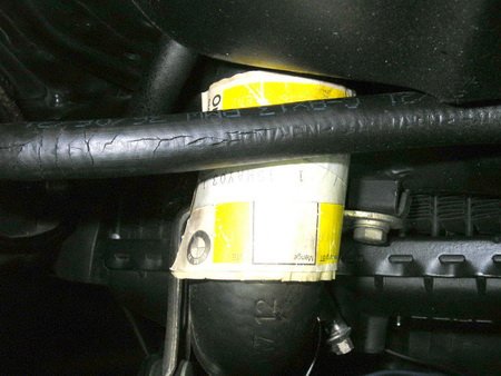 BMW 燃料ホース (継続検査)_e0218639_11273848.jpg