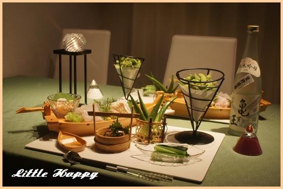 週末は美味しい刺身と日本酒と・・・_d0269651_9193432.jpg