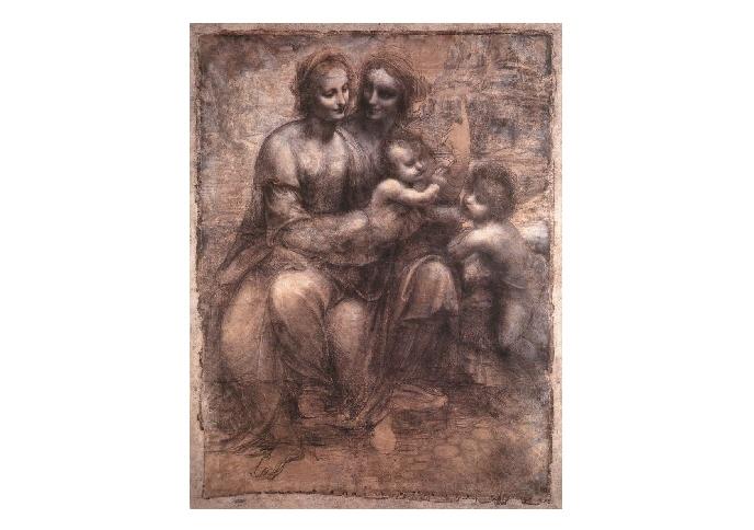 モナリザを巡る冒険 その2 『聖アンナと聖母子』のカルトン_e0122680_19111373.jpg