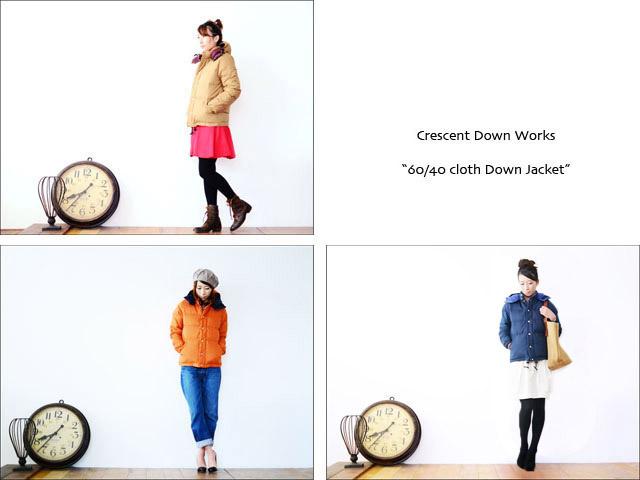 Crescent Down Works [クレセントダウンワークス] DOWN JACKET 60/40×STREAK [ダウンジャケット]_f0051306_15345492.jpg