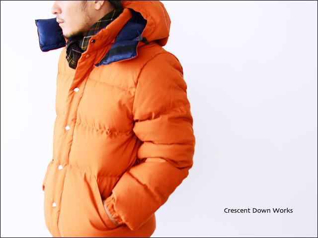 Crescent Down Works [クレセントダウンワークス] DOWN JACKET 60/40×STREAK [ダウンジャケット]_f0051306_15453047.jpg