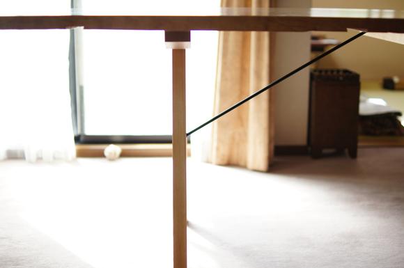 栃 1枚板のテーブル_a0122528_9294765.jpg