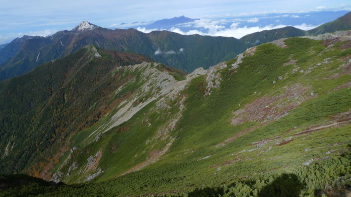 北岳登山〜下り〜_e0155231_1162845.jpg