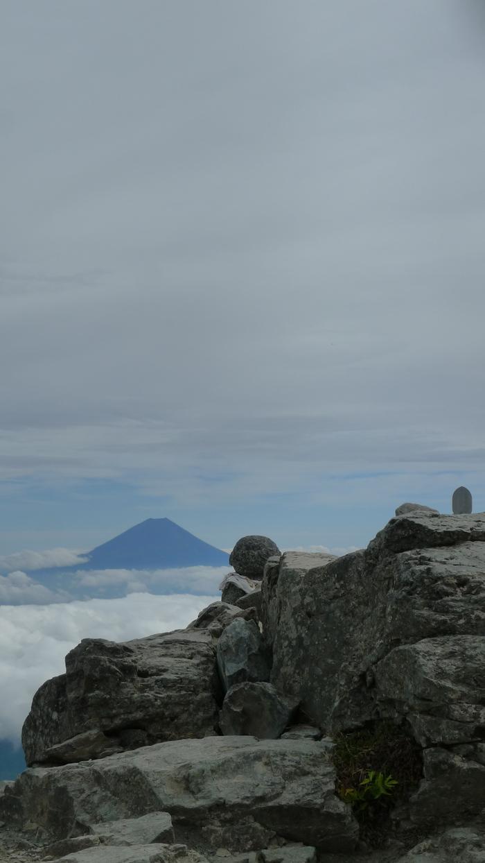 北岳登山〜山頂〜_e0155231_151838.jpg
