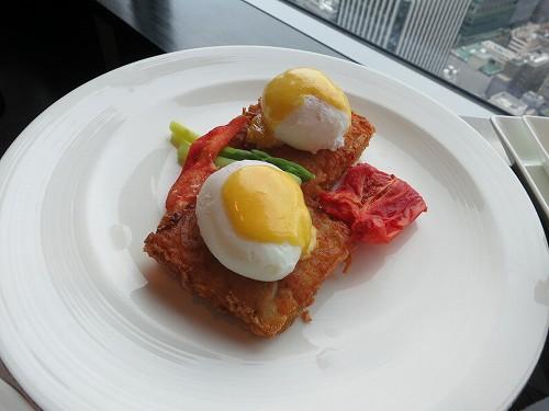9月 シャングリ・ラ東京 クラブラウンジで朝食そしてチェックアウト_a0055835_15404965.jpg