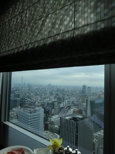 9月 シャングリ・ラ東京 クラブラウンジで朝食そしてチェックアウト_a0055835_1614928.jpg