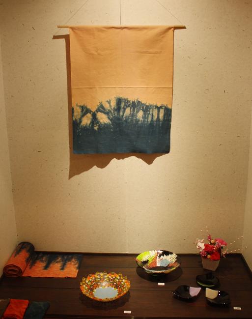 日韓交流工芸展「光明に国境なし」〜星の智慧 自然の慈悲 繋ぐ技〜が始まりました。_d0178448_11455567.jpg