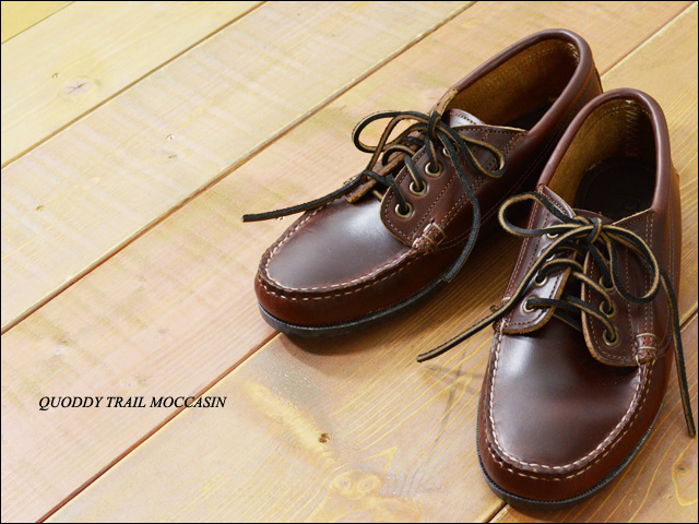 QUODDY TRAIL MOCCASIN [クォディートレイルモカシン] MALISEET OXFORD [450054] _f0051306_15405185.jpg