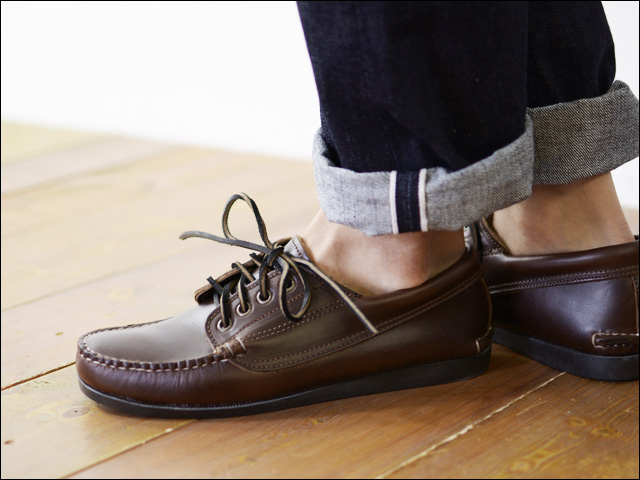 QUODDY TRAIL MOCCASIN [クォディートレイルモカシン] MALISEET OXFORD [450054] _f0051306_15405625.jpg