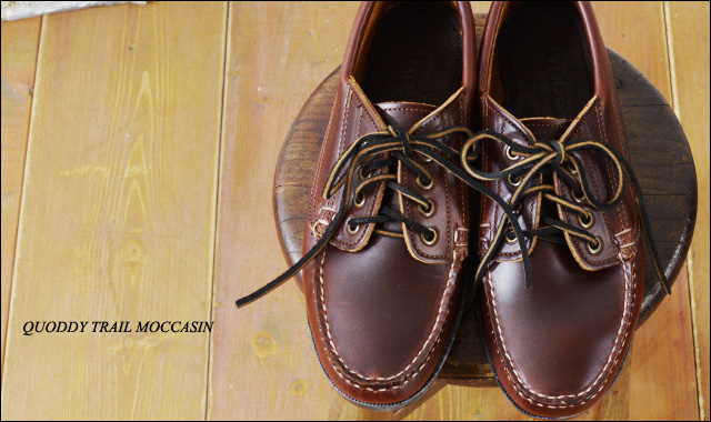 QUODDY TRAIL MOCCASIN [クォディートレイルモカシン] MALISEET OXFORD [450054] _f0051306_15405744.jpg