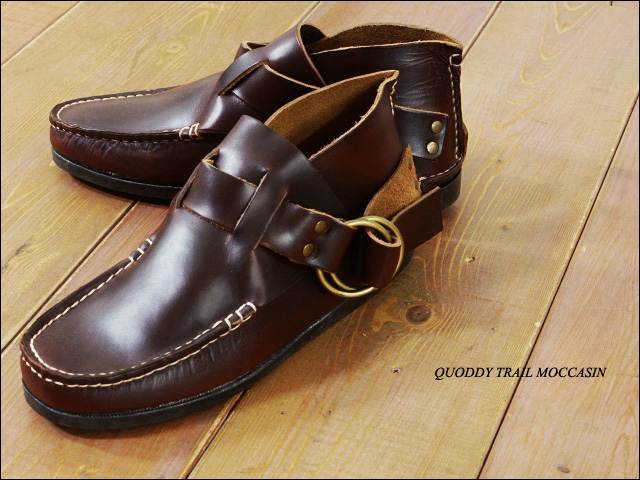 QUODDY TRAIL MOCCASIN [クォディートレイルモカシン] RING BOOTS [702007_f0051306_15423017.jpg
