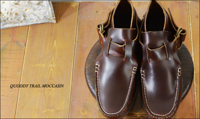 QUODDY TRAIL MOCCASIN [クォディートレイルモカシン] RING BOOTS [702007_f0051306_15423188.jpg
