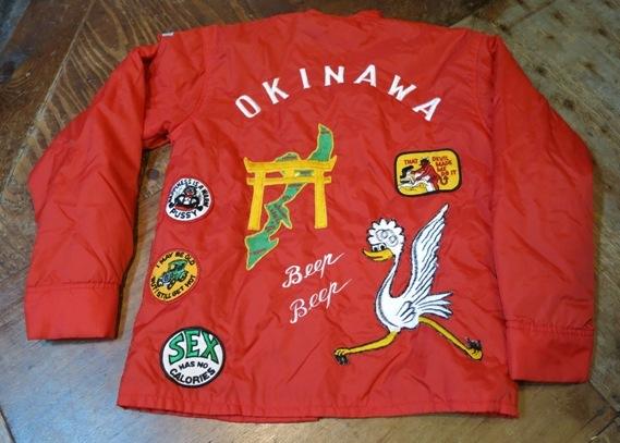 10/13(日)入荷商品!60-70\'S スーベニア OKINAWA JKT!_c0144020_14404061.jpg