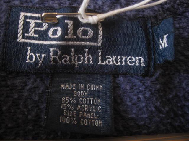 Ralph Lauren Double Zip Sweat Parka!!_d0098545_1455857.jpg