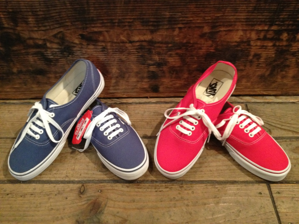 "VANS ""Authentic&Slip-on\""_b0121563_1837371.jpg"
