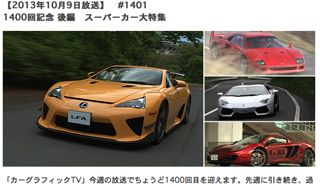 カーグラフィックTV、1400回!_e0093380_6212656.jpg