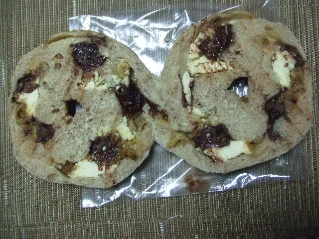 ブラウニー バナナチョコクルミとクリームチーズ_f0076001_22453679.jpg