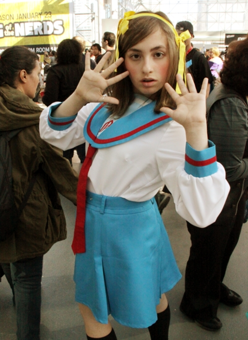 NYコミコン2013 日本の影響を受けてるいろいろなコスプレ_b0007805_1384616.jpg