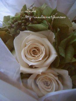 お届けのお花と月桂樹_e0127625_22454732.jpg
