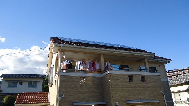 O様邸(西区己斐上)太陽光発電システム工事_d0125228_2094658.jpg