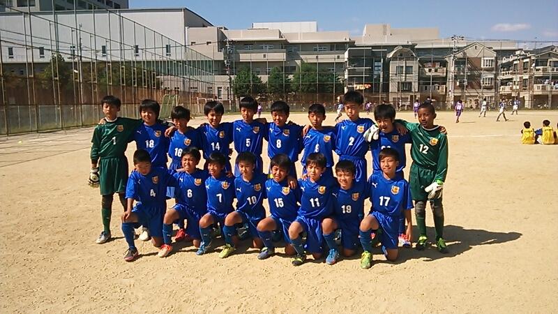 10月13日(日)U12   ライフカップ一次リーグ_f0138335_18391933.jpg