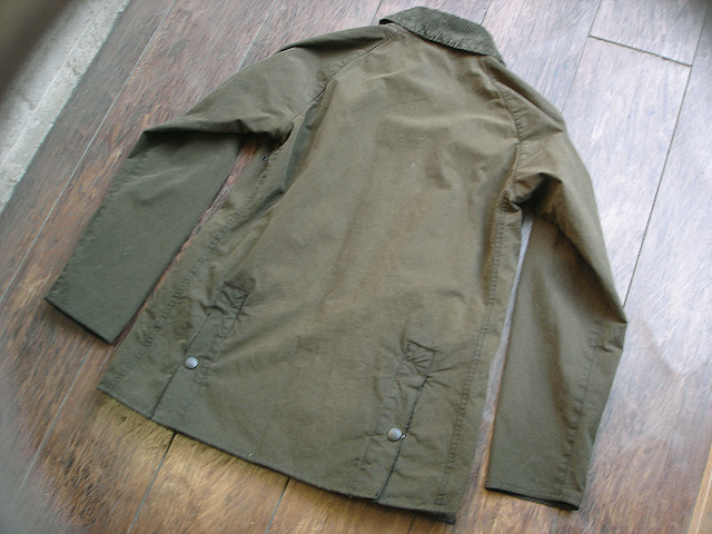 "NEW : Barbour [SL BEDALE] ""WASHED\"" JACKET !!_a0132147_22435053.jpg"