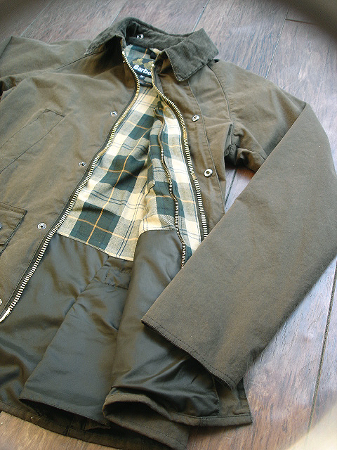 "NEW : Barbour [SL BEDALE] ""WASHED\"" JACKET !!_a0132147_22453624.jpg"