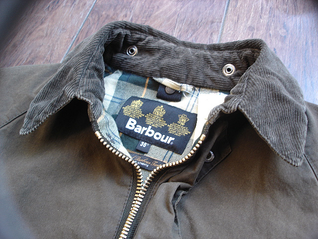 "NEW : Barbour [SL BEDALE] ""WASHED\"" JACKET !!_a0132147_22453792.jpg"