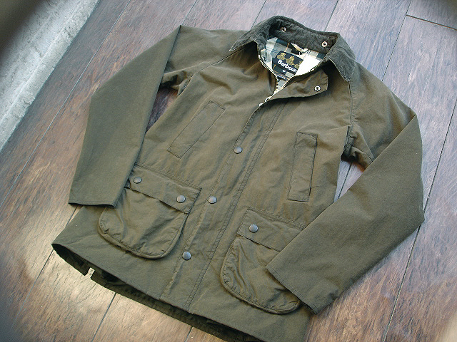 "NEW : Barbour [SL BEDALE] ""WASHED\"" JACKET !!_a0132147_2246224.jpg"