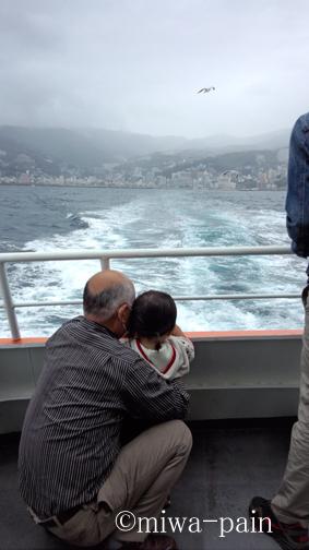 【初島一泊旅行-1】チビ子、初めて船に乗る!_e0197587_139419.jpg