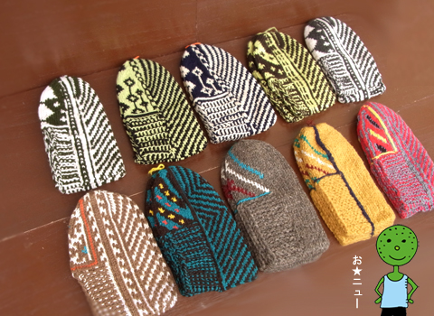 イランのおばあちゃんの手編靴下2013_d0156336_21583694.jpg