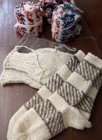 イランのおばあちゃんの手編靴下2013_d0156336_2159587.jpg