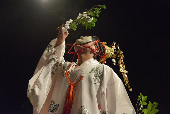 佐料編笠神楽奉納 秋祭りの季節です ⑤_d0246136_093511.jpg