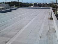 屋上防水の改修工事を行っています。_d0059949_10511134.jpg