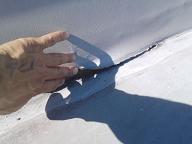 屋上防水の改修工事を行っています。_d0059949_11325748.jpg