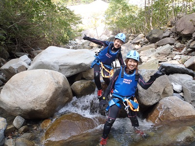 滝GIRLとキャニ♥_a0150951_19421119.jpg