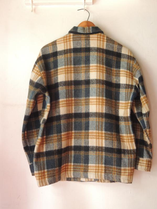 60S DEACON BROTHERS WOOL SHIRT JACKET--RECOMMEND--_c0176867_12512298.jpg