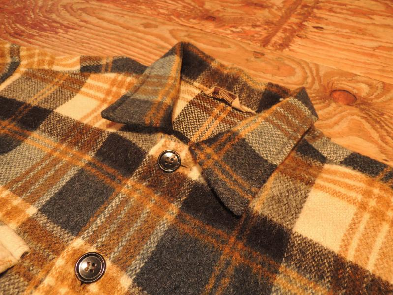 60S DEACON BROTHERS WOOL SHIRT JACKET--RECOMMEND--_c0176867_1256419.jpg