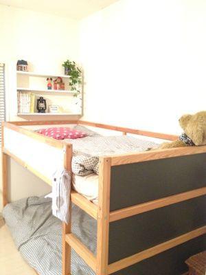 子供のベッドがグレーになったよ_f0173771_2023298.jpg