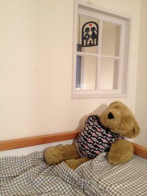 子供のベッドがグレーになったよ_f0173771_2023380.jpg