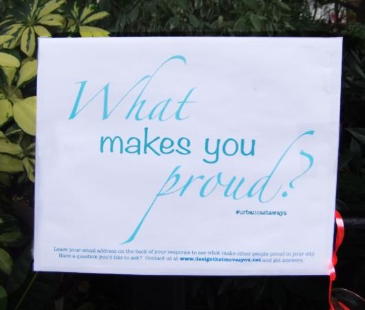 NYのデザイン事務所によるユニークな街角の声の集め方 What makes you proud?_b0007805_21353668.jpg