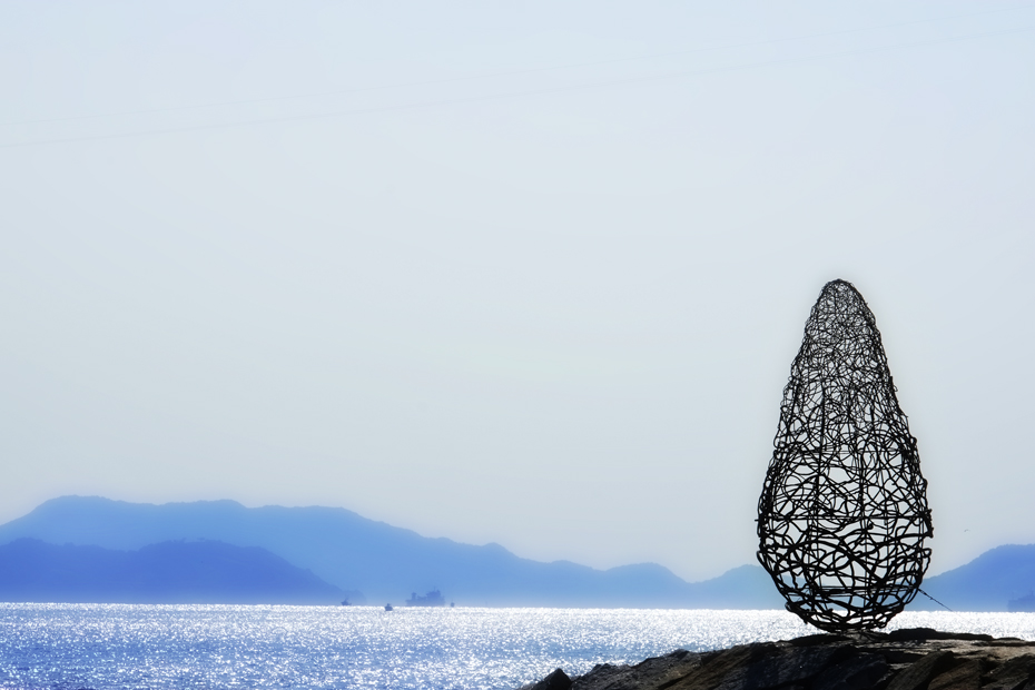 瀬戸内国際芸術祭の作品の一つ