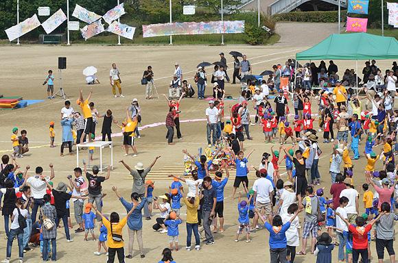 三室戸保育園運動会 2013年秋_e0164563_15302988.jpg