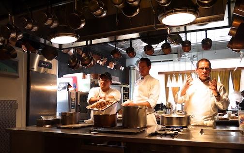 石川県の食材を使って有名シェフのマイケル・ロマーノが独創的なレシピを披露!_c0050387_12261828.jpg